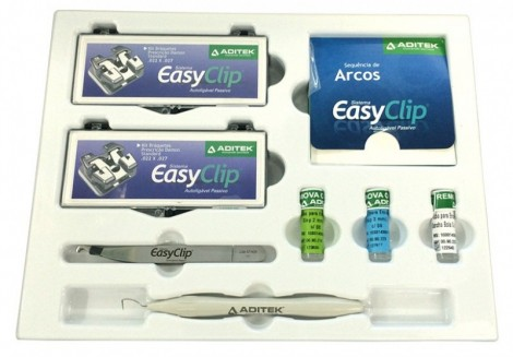 Easy Clip+ Kit Braq. Autoligavel Damon Standard 022 C/04 Casos