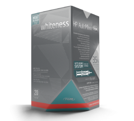 Combo Whiteness Hp Automixx Kit+ 2 Ser Perfect 16% Fgm