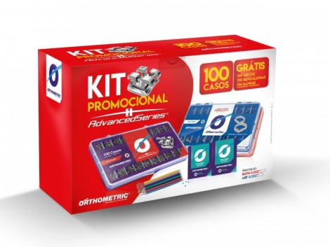 Kit Advanced Roth 022 100 Casos Promocional Orthometric