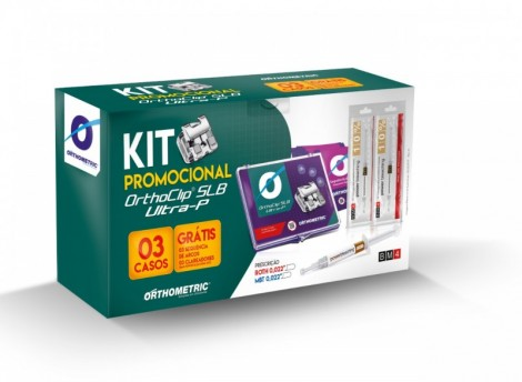 Kit Autoligado Slb Ultra P Mbt 0.22 3 Casos Orthometric